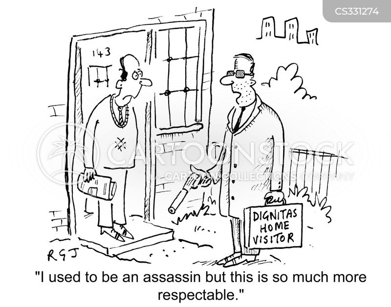 assisted suicides cartoon