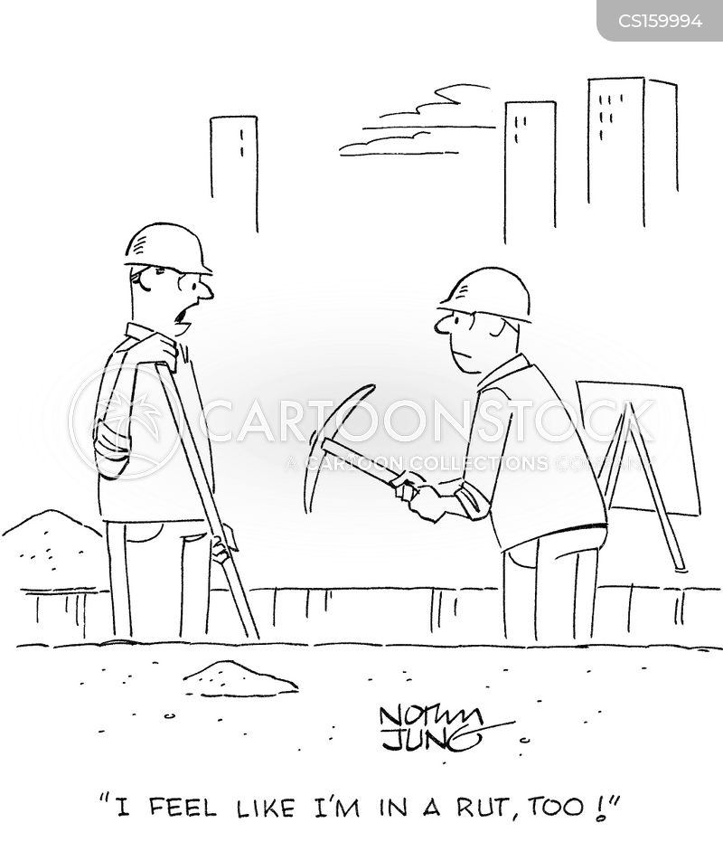 pick axes cartoon