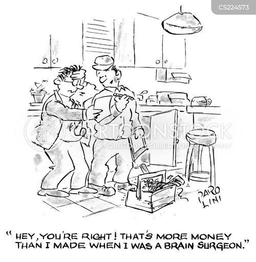 salary comparison cartoon