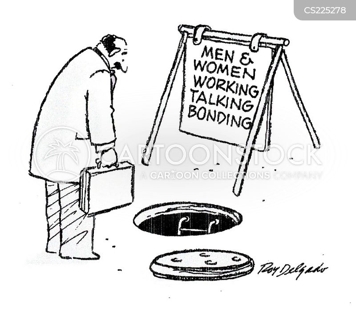 sewage work cartoon