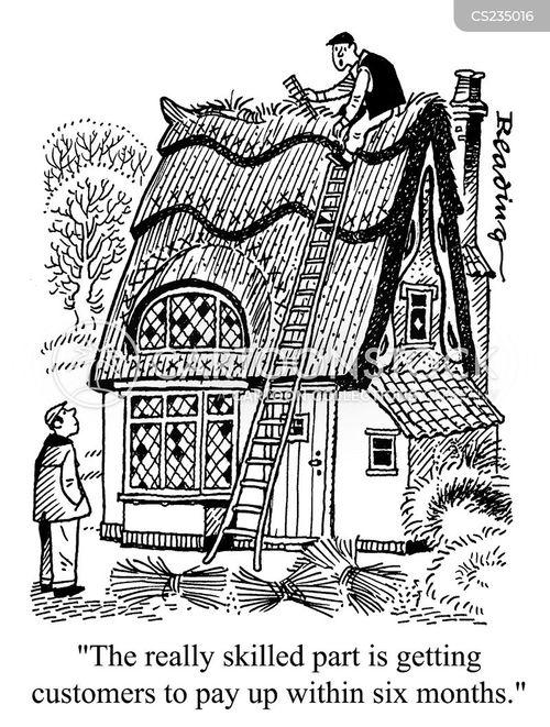 roofing cartoon