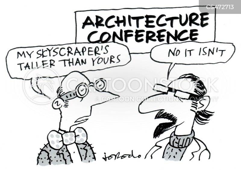 building designs cartoon