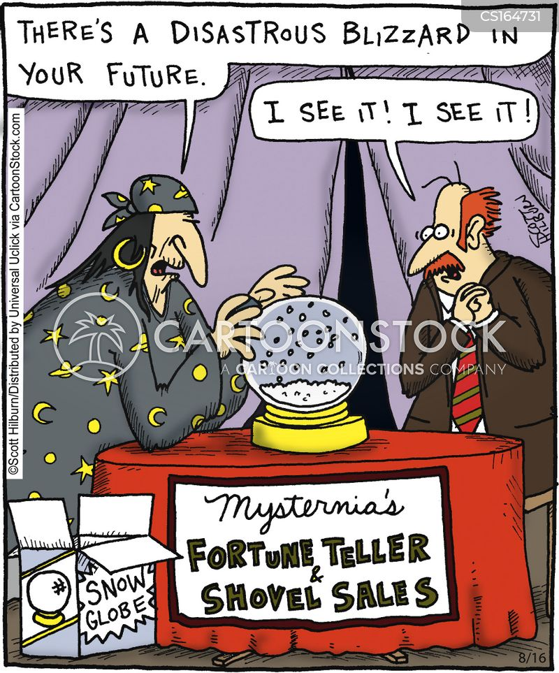 sales cartoon