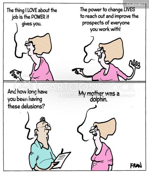 rewarding job cartoon