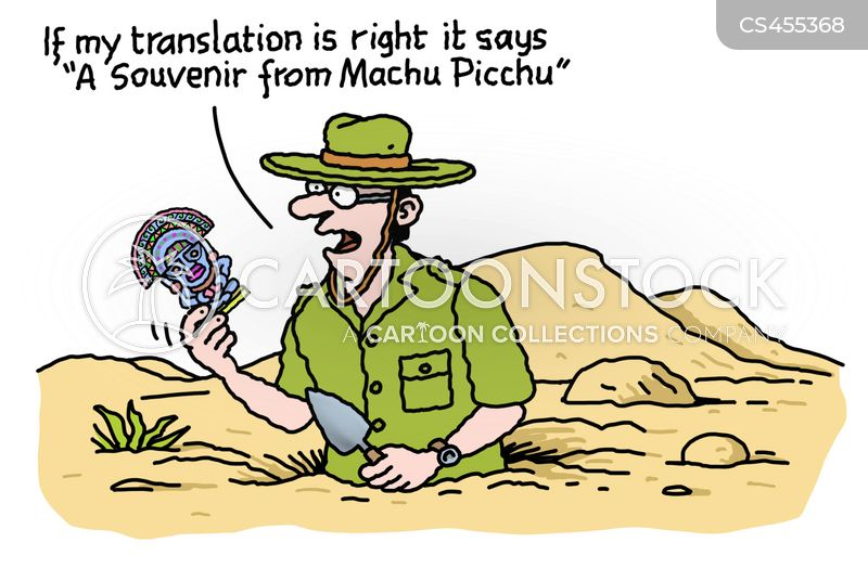 trowel cartoon