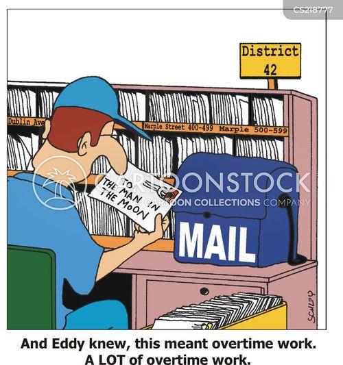 extra work cartoon