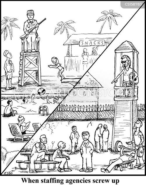 employment agencies cartoon