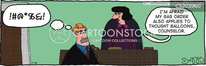 injunctions cartoon