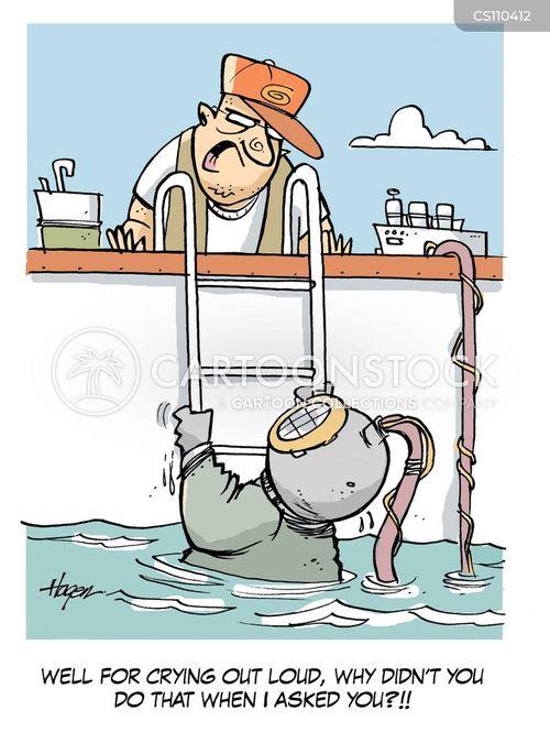 aquatic cartoon