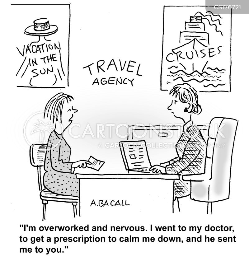 job stress cartoon