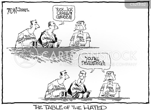 hate figure cartoon