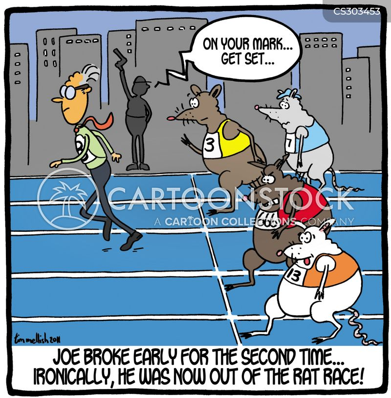 life in the fast lane cartoon