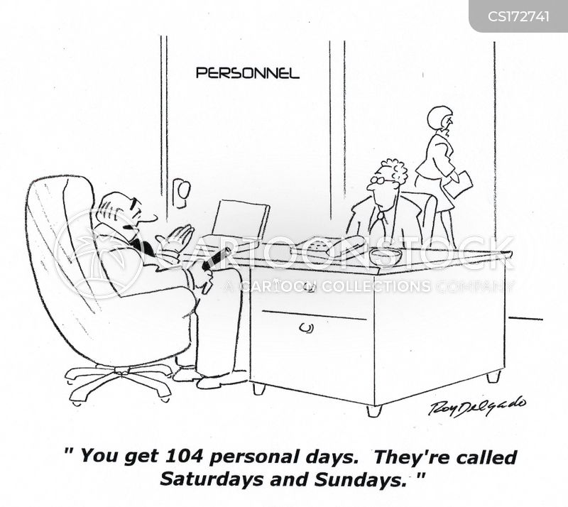 personal days cartoon