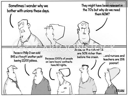zero hour contract cartoon