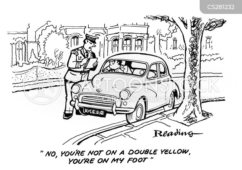 parking rules cartoon