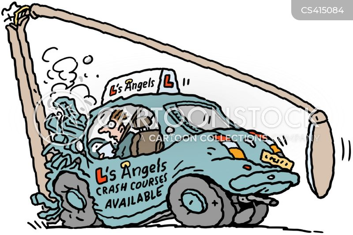 Drivers' ed Cartoon 4 of 6