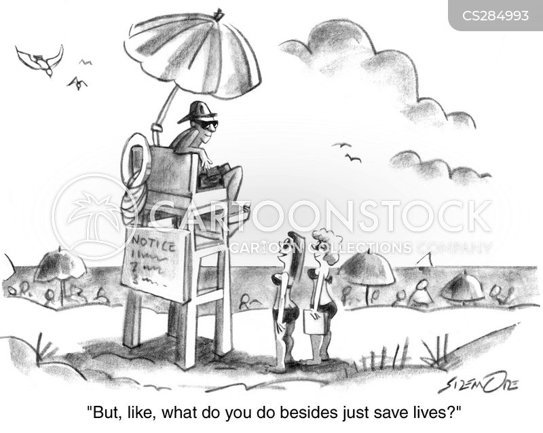 spring break cartoon