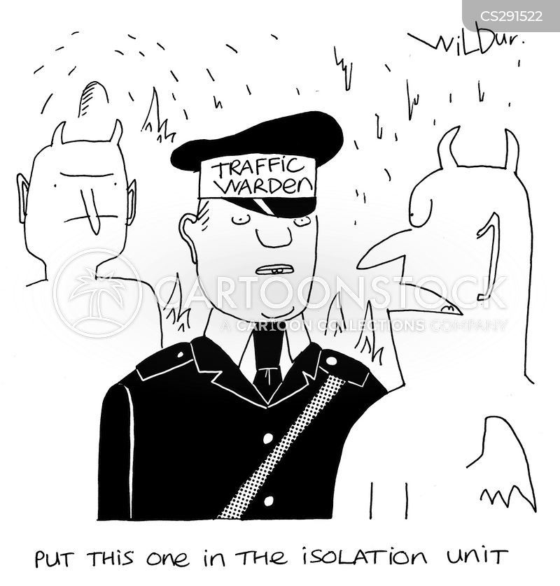 isolation units cartoon