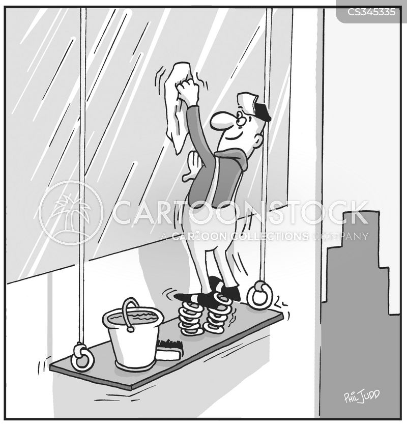 Cleaning Windows cartoons, Cleaning Windows cartoon, funny, Cleaning Windows picture, Cleaning Windows pictures, Cleaning Windows image, Cleaning Windows images, Cleaning Windows illustration, Cleaning Windows illustrations