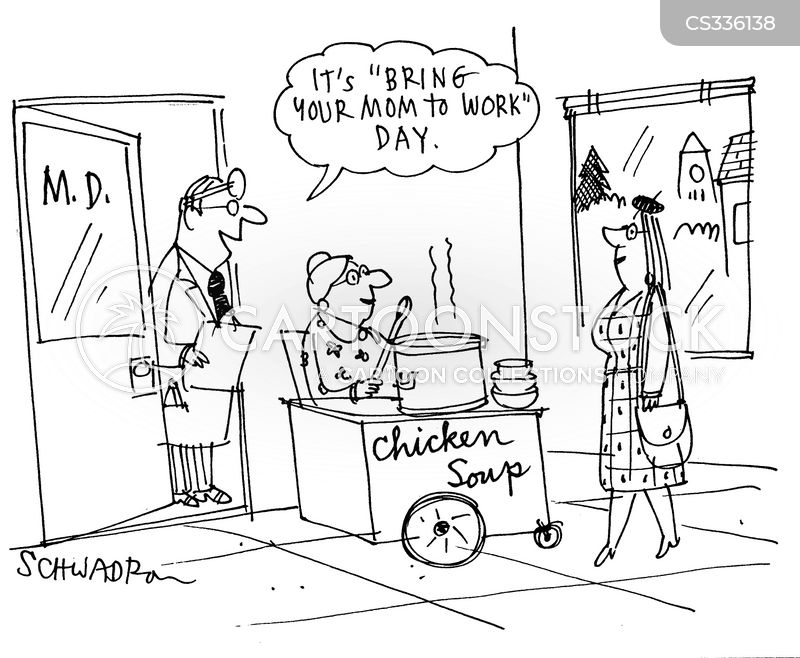 bring your child to work day cartoon