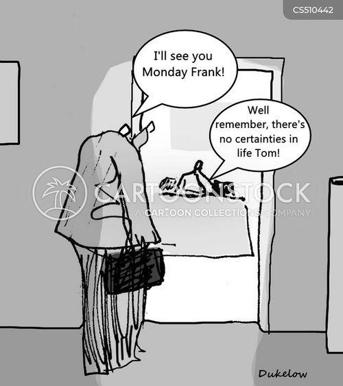 uncertain times cartoon