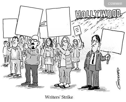 union members cartoon