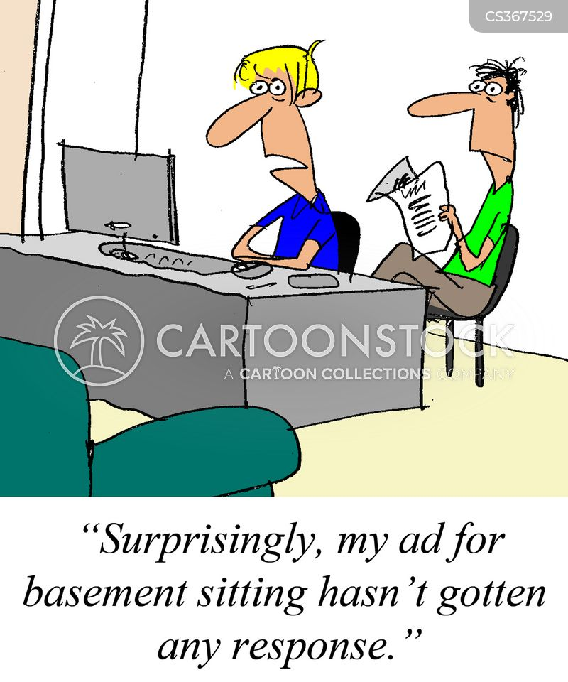 house sitters cartoon
