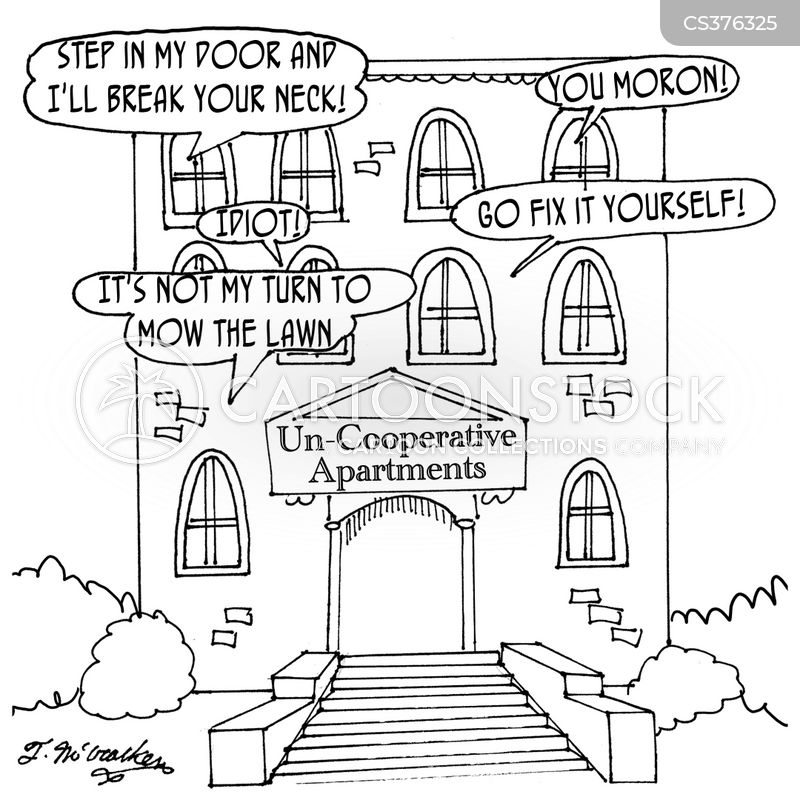 housing cooperative cartoon