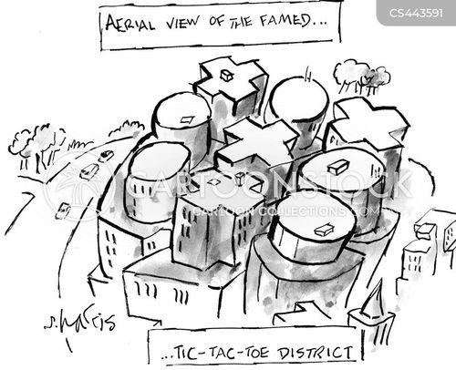 birdseye view cartoon