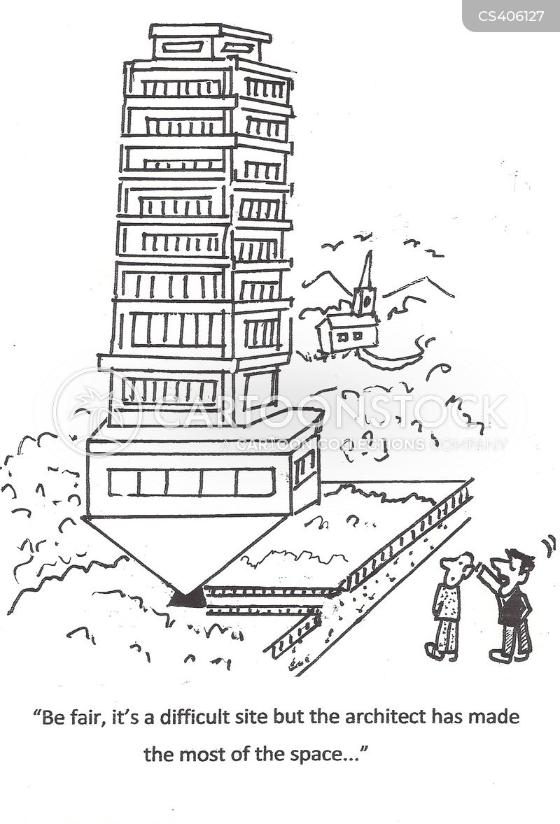 tower-blocks cartoon