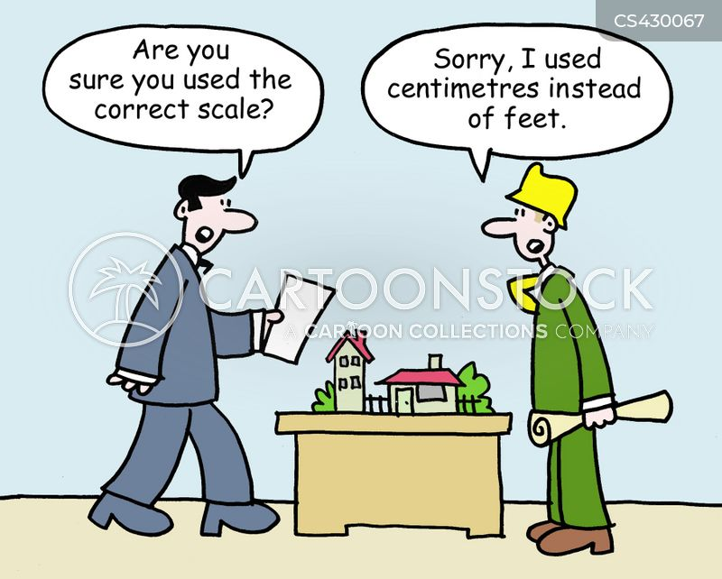 measuring units cartoon