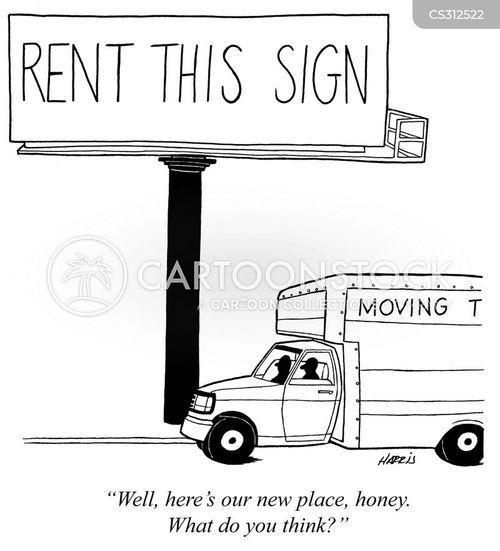moving van cartoon