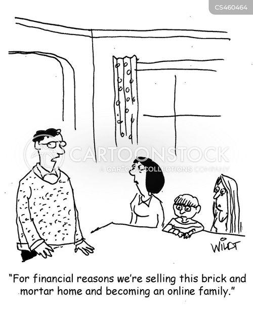 mortgage repayments cartoon
