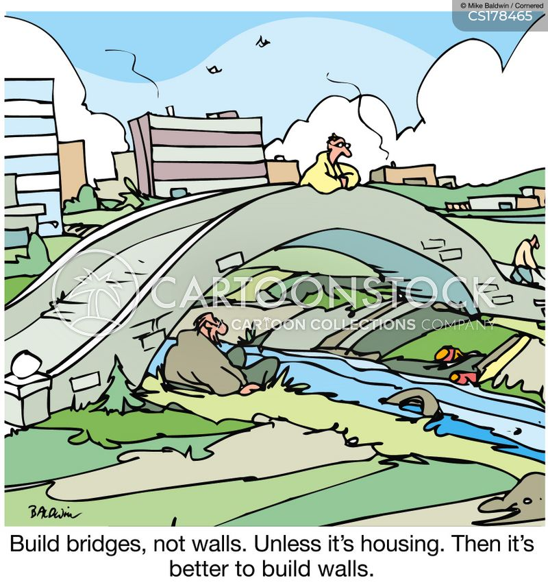 bridge cartoon
