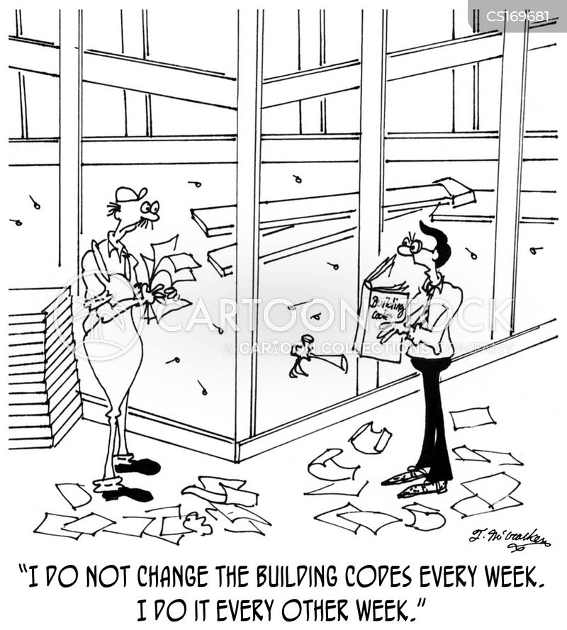 Building Inspector Cartoons And Comics Funny Pictures