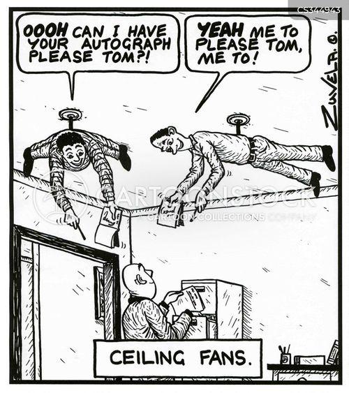ceiling fans cartoon