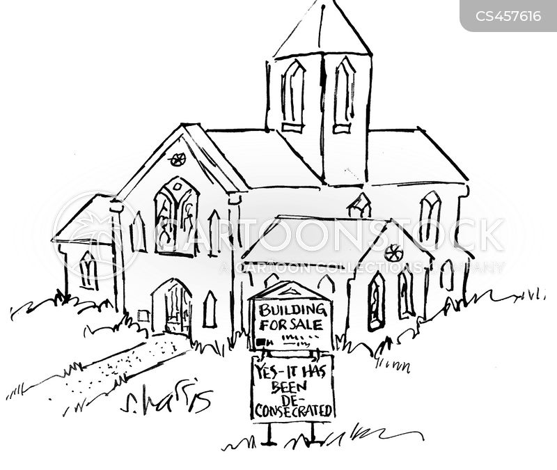 consecrated property cartoon