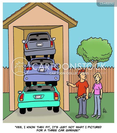 stacked cartoon