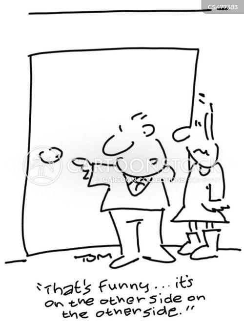 door handle cartoon
