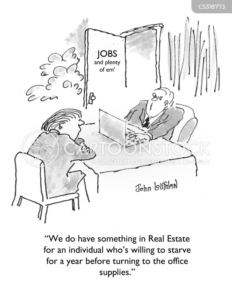 employment crisis cartoon