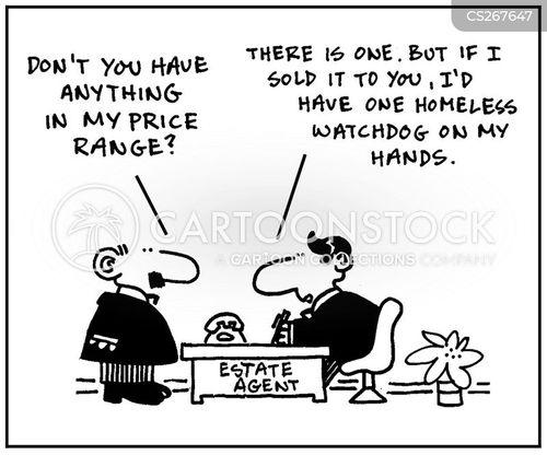 price range cartoon