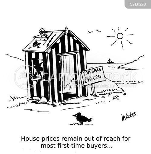 beach hut cartoon