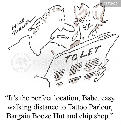 chip shop cartoon