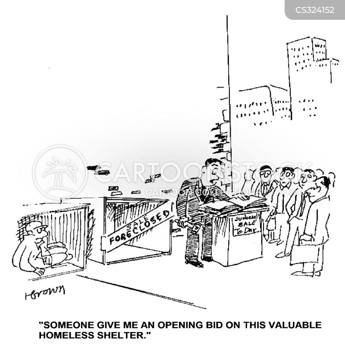 Funny Homeless Cartoon