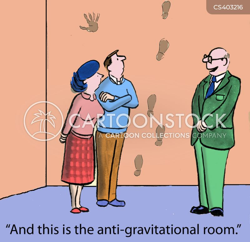 anti-gravity cartoon