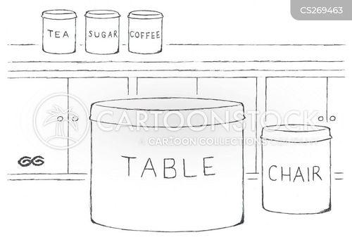 kitchenware cartoon