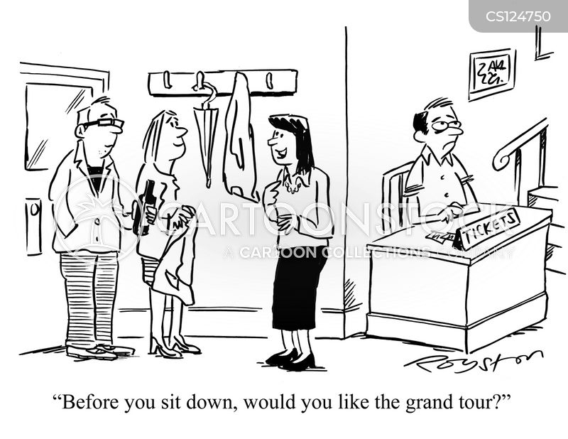 grand tour cartoon