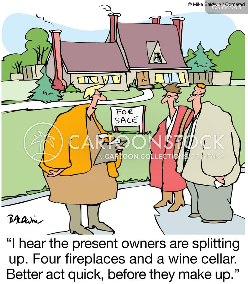 Real Estate Agents Cartoons And Comics Funny Pictures From Cartoonstock