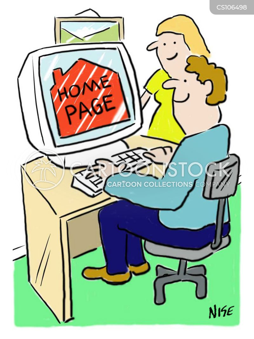 online search cartoon