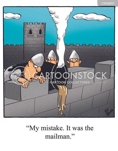 hot oil cartoon